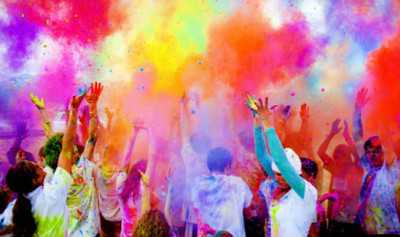 Best wishes on the occasion of Holi