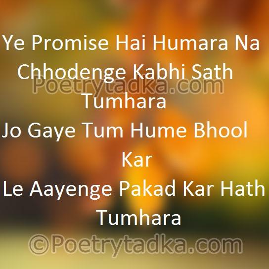 Friendship Shayari Wallpaper Whatsapp Profile Image Photu In Hindi Ye Promise Hai