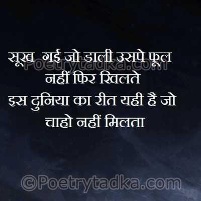sad shayari wallpaper whatsapp profile image photu in hindi sookh uspe nahi duniya reet rit chaho