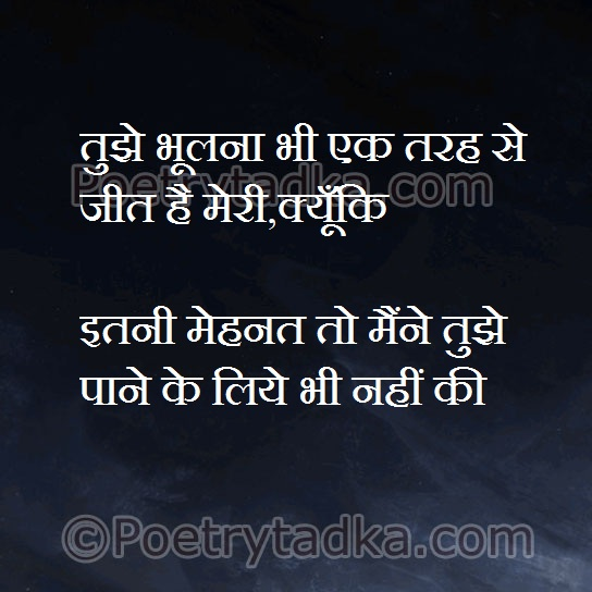 whatsapp status in hindi on tujhe bholana